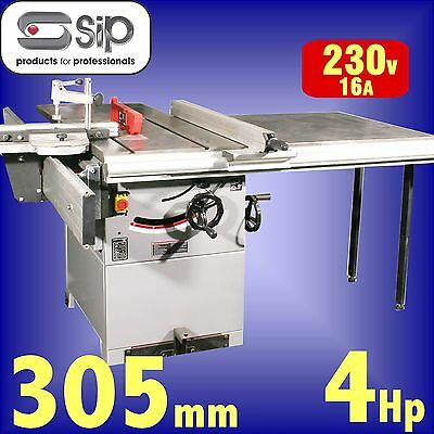 SIP 01446 Pro 315mm 12 Cast Iron Table Saw 240v 4hp bench circular rip sawbench