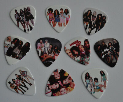 Lots of 10pcs Little Mix 2 sides Printing Medium Size Guitar Picks