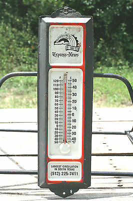 ORIGINAL EXPRESS NEWS THERMOMETER-Dated 1987-Made in the USA