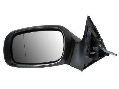 LH//NS Manual Door Wing Mirror Includes Glass