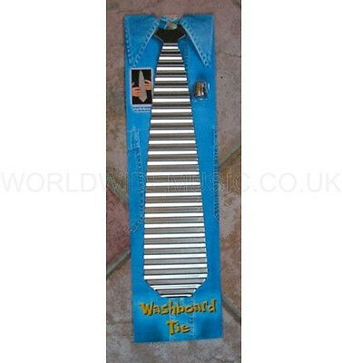 WASHBOARD TIE (Zydeco Tie) GREAT FUN - wonderful gift