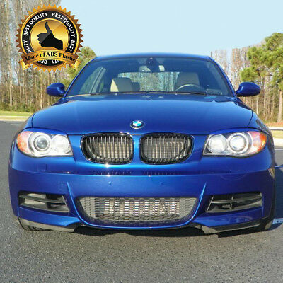-= BMW 1 E81 , E82 , E87 , E88 2004-2010 Headlight Eyebrows Eyelids = ABS = NEW