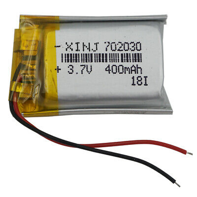 3.7 V 400 mAh Polymer Li battery for Mp3 Mp4 GPS Bluetooth Headset pen 702030