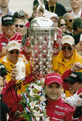 Gil de Ferran Hand Signed Indianapolis 500 Winner Photo 12x8 4.