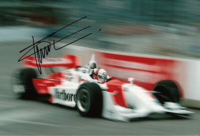 Gil de Ferran Hand Signed Indy 500 Photo 12x8 3.