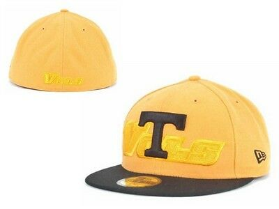 quality design c50f9 fc9ae NWT NCAA Tennessee Volunteers New ERA Popscript 59FIFTY Fitted Hat Cap