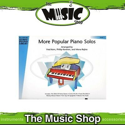 New HLSPL More Popular Piano Solos Book 1 - Hal Leonard Student Piano Library