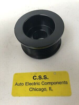 "Ford 3G Alternator 1.8"" Overdrive Pulley. Increase Amps At Idle"