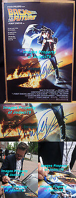 Michael J Fox signed Back to the Future 12x18 Photo Poster EXACT PROOF