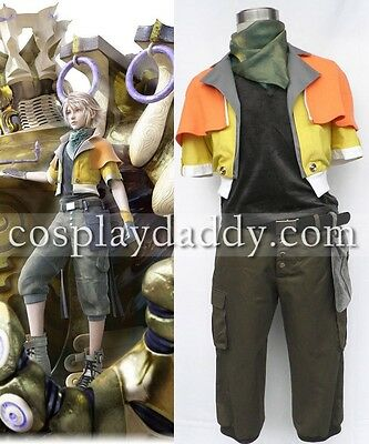 Final Fantasy XIII  Hope Estheim Cosplay Costume Outfit 1st version