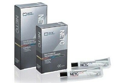 NETC - DENTAL Non Eugenol Temporary Cement (by Meta Biomed) 40g base 14g Catlyst