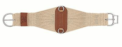 Smart Girth Cinch Weaver Leather Western Mohair 27 Strand Roper Horse Tack 34""