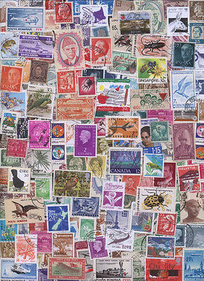 1000 Different World wide Stamps Lot ! From Our Hoard of 1000000