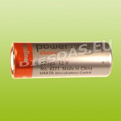 1 Stk. Varta Batterie P23GA Power One 23A LR23A MN21 V23A K23A 8LR932 LRV08 GP23
