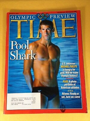 Time Magazine Olympic Preview August 9, 2004