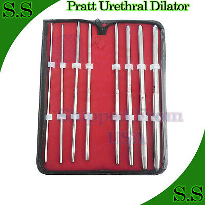 Pratt Urethral Dilator straight SURGICAL INSTRUMENTS