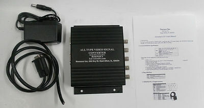 Mazak industrial monitor replacement ,to VGA XVGA LCD CRT Video Converter