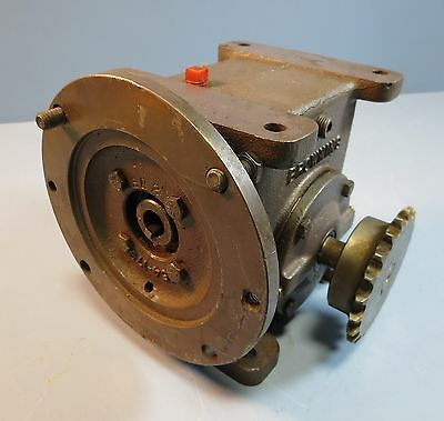 Browning Gear Reducer 154C1-LR20  Model A Ratio 20:1 334 in lb