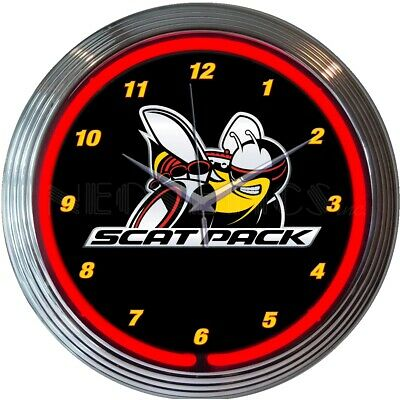 Neon Sign Mopar Omega M Hemi Powered Vintage Style Chrysler Dealer shop lamp