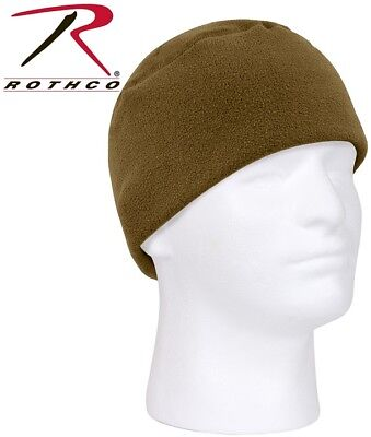 f6b5db0e Coyote Watch Cap Military Warm Polar Fleece Skiing Hat Beanie Rothco 8460