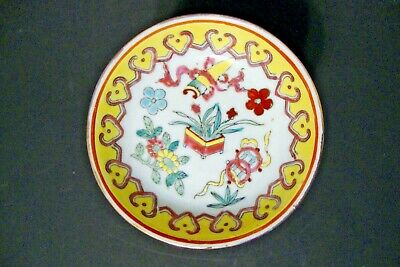 """Old Chinese Porcelain Small Plates - Enamel Hand Painted  - 12 available 4"""""""