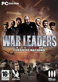 ELDORADODUJEU >>> WAR LEADERS CLASH OF NATIONS Pour PC NEUF VF