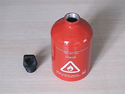 Spare Fuel Bottle 30oz 1000ml Aluminum Gas Can Red Free Shipping