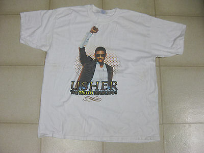 Usher The Truth Tour 2004 shirt, XL, WOW!