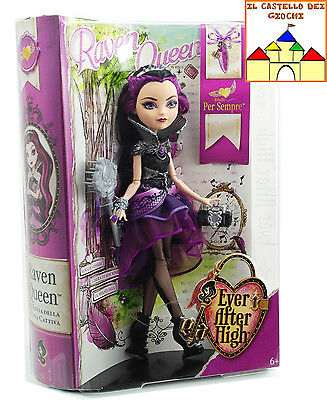 Ever After High Bambola RAVEN QUEEN 30cm by Mattel BFW91