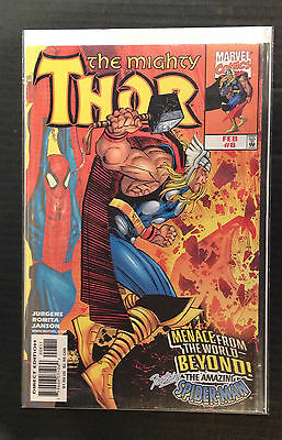The Mighty Thor #8 NM- 1st Print Free UK P&P Marvel Comics