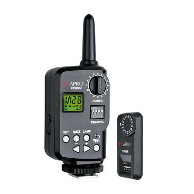 Li-ion5801 Speedlite Wireless Trigger Set ST-1 433MHz Radio Godox V850 Studio
