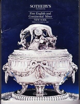 Sotheby's Fine English and Continental Silver- Oct. 12, 1990
