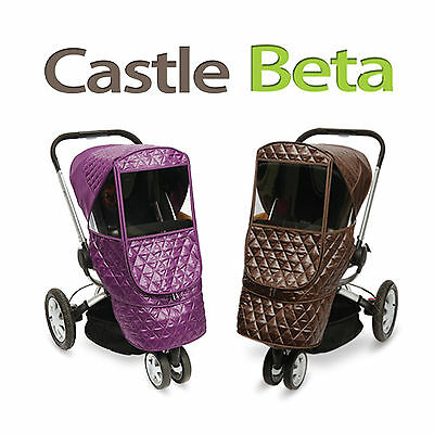 Manito Stroller Weather Shield - Castle Beta