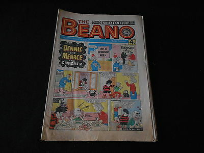 The Beano comic 1779 August 21st 1976
