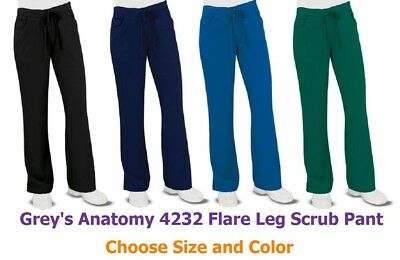 Grey's Anatomy 4232 Flare Leg Scrub Pants - Choose size and Color FREE Shipping!
