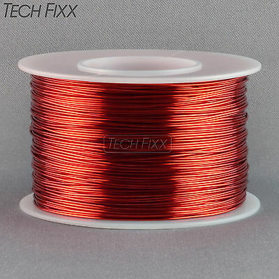 Magnet Wire 24 Gauge AWG Enameled Copper 396 Feet Tattoo Coil Winding Red