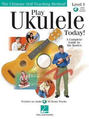 New Play Ukulele Today Level 1 Music Tuition Book with CD