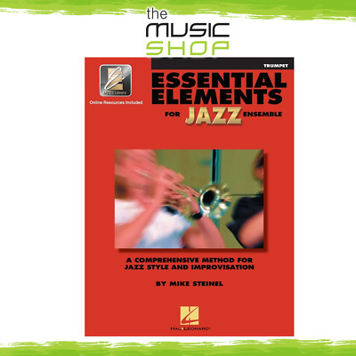New Essential Elements for Jazz Ensemble: Trumpet Book & CD