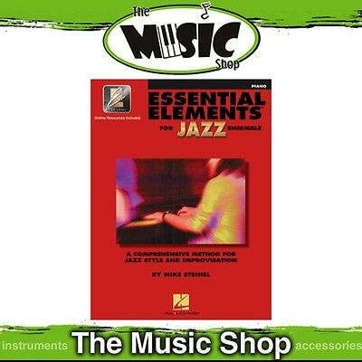 New Essential Elements for Jazz Ensemble: Piano Book & OLA