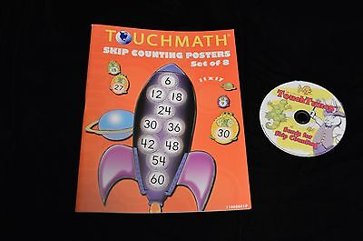 TouchMath Skip Counting Posters and CD Set