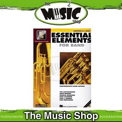 New Essential Elements for Band: Baritone B.C. Brass Book 1 - Band Method
