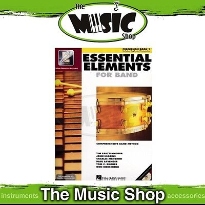 New Essential Elements for Band: Percussion Book 1 - Comprehensive Band Method