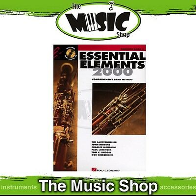 New Essential Elements 2000: Bassoon Book 2 & CD - Comprehensive Band Method