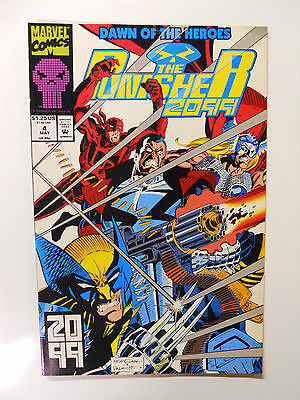 VINTAGE! Marvel Comics The Punisher 2099 #4 (1993)