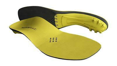Superfeet Yellow Premium Insoles | Ice Hockey Skates, Cycling | Elevated Heel