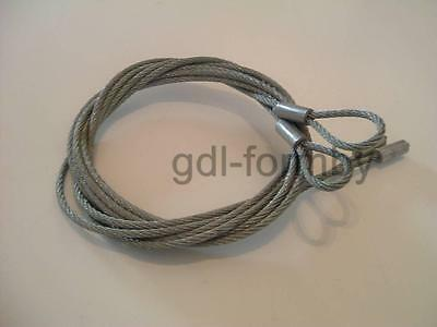 NEW 3mm GARADOR Double Canopy CABLES lift wires Garage Door Spares PN31 PN59