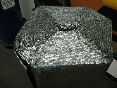 "1/8"" Double Foil Insulated Reflective Bubble - 12"" x 125' per roll"