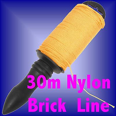 30m NYLON BRICKLINE brick line level pin 30 m metre