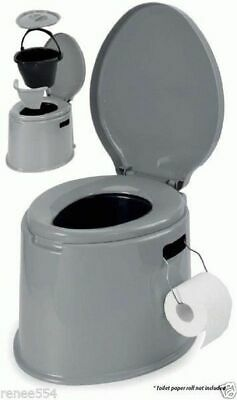Kookaburra 5 Litre Camp Toilet - Camping RV Caravan Parts Accessories Portable