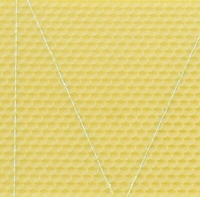 10X Brood Foundation (Wired) - Beeswax  -  National Bee Hive Brood • EUR 20,87